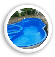 swimming pool construction completed